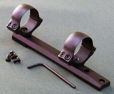 Remington 700, rifle scope mounts,Short Action 30mm rings, 1 piece base, STEEL