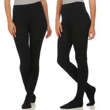 2er Pack Damen Thermo Strumpfhosen Leggings Hose Pants mit Innenfleece BF 2525