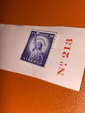 1 New Vintage 3 cent Statue Of Liberty stamp