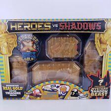 Treasure Hunt Treasure X Heroes vs Shadows Real Gold Dipped Plus Shadow Beast