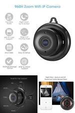 Wireless Video Recorder Cam Mini WIFI 960P HD Spy Hidden IP Camera Night Vision