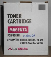 Toner für Canon iR C2880 C3380 C2550 C3580 magenta ersetztCanon C-EXV21 C-EXV 21