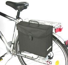 Fahrrad Seitentasche Gepäcktasche Gepäckträgertasche Fahrradtasche Rad schwarz