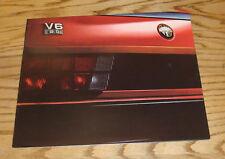 Original 1987 Alfa Romeo Full Line Foldout Sales Brochure 87 Spider Milano