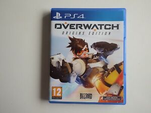 Overwatch: Origins Edition on PS4 in NEAR MINT Condition (Disc MINT)