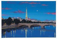 Liudmila Kondakova - The Seine , hand-signed lithograph on paper