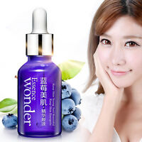 Hot Face Care Blueberry Hyaluronic Acid Liquid Wrinkle Aging Pure Essence Oil