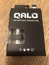 QALO Men's Basic Silicone Gray Wedding Ring Band size 10 113