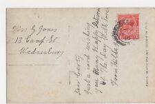 Miss Gerty Jones, 13 Camp Street, Wednesbury 1920 Postcard, B277