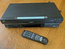 Jvc Super Vhs Et Video Cassette Recorder & Remote - Tested Working + Very Clean