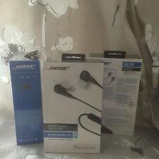 Bose QuietComfort QC20 In-Ear Headphones - Black - for iPhone iPod iPad