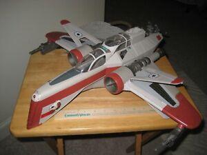 Star Wars ROTS Clone Wars ARC-170 Fighter Hasbro 2004 Lucas films Ltd