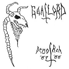 Goatlord-demo' 87/reh'88 (états-unis), CD (Beherit, blasphemy, autopsié, sarcofago)