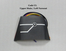 Fascia Mounted Turnout Controller #UL by Bear Creek Model Railroad, LLC.