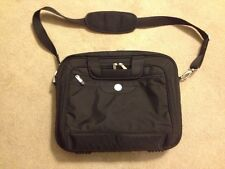 Dell Deluxe Nylon Laptop Notebook Tablet Carrying Case Shoulder Bag Black