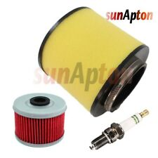 Air Oil Filter & Spark Plug For Honda TRX450 Foreman 1998-2004 Tune Up Kit