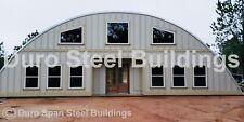 Durospan Steel 50x100x17 Metal Building Kits Diy Barndominium Open Ends Direct