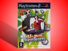 U-MOVE SUPER SPORTS GIOCO X PLAYSTATION 2 PS2 NUOVO! VERSIONE ITALIANA!