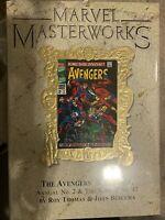 Marvel Masterworks Avengers variant HC vol 70 RARE 1550 printed 1st Vision OOP