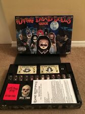 LIVING DEAD DOLLS BOARD GAME by Mezco for 3 to 6 Spooky Kids Parental Advisory