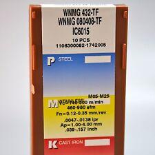 WNMG080408-TF IC6015 Drehplatten Iscar 10 Stück NEU mit 19% MwSt.