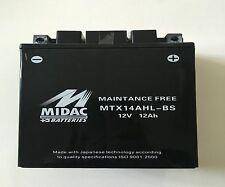 BATTERIA MIDAC MTX14AHL-BS HARLEY DAVIDSONMt500 (Military)5002000