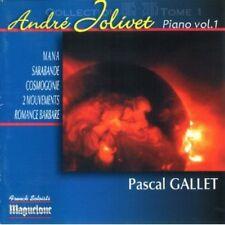 Pascal Gallet, Andre Jolivet - Pieces Pour Piano 1 [New CD]