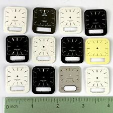 12 Watch Faces Dial Large Steampunk Parts Altered Art Watchmaker Lot Square