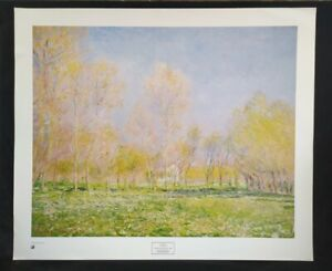 Spring in Giverny, 1890 by Claude Monet, Print