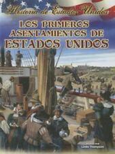Los Primeros Asentamientos de Estados Unidos (Historia de Estados-ExLibrary