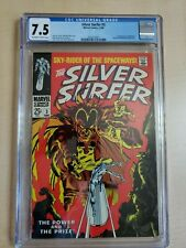 SILVER SURFER #3 CGC 7.5 (vf-) 1st Mephisto 12/68 ow/w pages from Marvel Comics