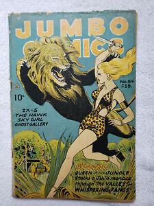 Jumbo Comics #84 (Feb. 1946, Fiction House) [GD/VG 3.0]