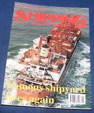 SHIPPING TODAY AND YESTERDAY JANUARY 1996 - FAMOUS SHIPYARD LIVES AGAIN
