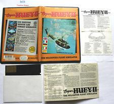 Super Huey 2 Commodore 64 128 Disk Us Gold Rare Helicopter Flug Simulator 1986