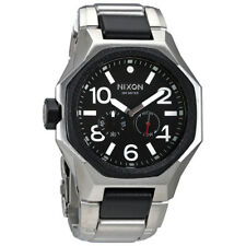 Nixon Tangent Black Dial Mens Stainless Steel Watch A397000
