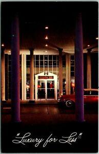 "Spartanburg, South Carolina Postcard RAMADA INN ""Luxury for Less"" c1960s Chrome"