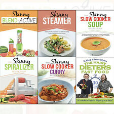 Hairy Dieters: Fast Food,Skinny Slow Cooker Recipe Book 6 Books Collection Set