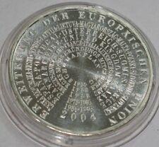 10 EURO Deutschland BRD Erweiterung der Europäischen Union EU Silbermünze 2004