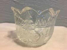 Crystal Christmas Tree Votive Tealight Candle Holder