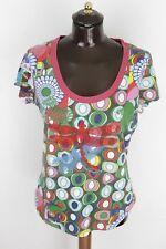 DESIGUAL XL maglia maglietta t-shirt vest D1883
