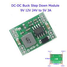 DC-DC Buck Step Down Converter Regulator Power Supply Module 9V 12V 24V to 5V 3A