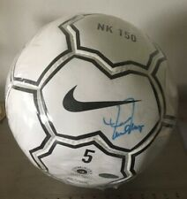 Mia Hamm Autographed Nike Soccer Ball - Steiner COA