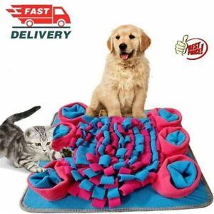 UK-Pet Snuffle Mat Dog Puppy Slow Feeding Interactive Training Foraging Washable