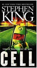 the CELL paperback by STEPHEN KING FREE USA SHIPPING steven your number is up