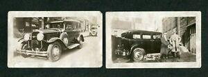 Vintage Car Photos 1930 Buick Sedan w/ Gangster Men 399128