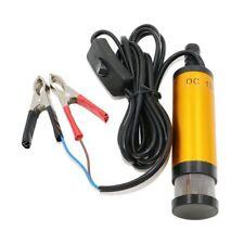 Hot 12V 12 L/Min Car Water Submersible Oil Diesel Pump Fuel Transfer Pump 38mm