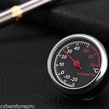 Car Mechanics Thermometer Digital Pointer for 12V Auto Time BLACK
