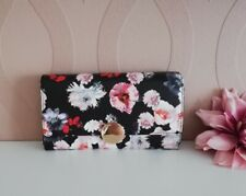 NWT Nine West Ringing Bells Wallet (purse) and credit card slip Floral Lovely