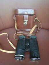 Vintage Carl Zeiss Jena Notarem 8x32 Cased Binoculars