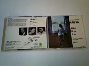 Zarzuela CD - Marina - signiert von Juan Pons